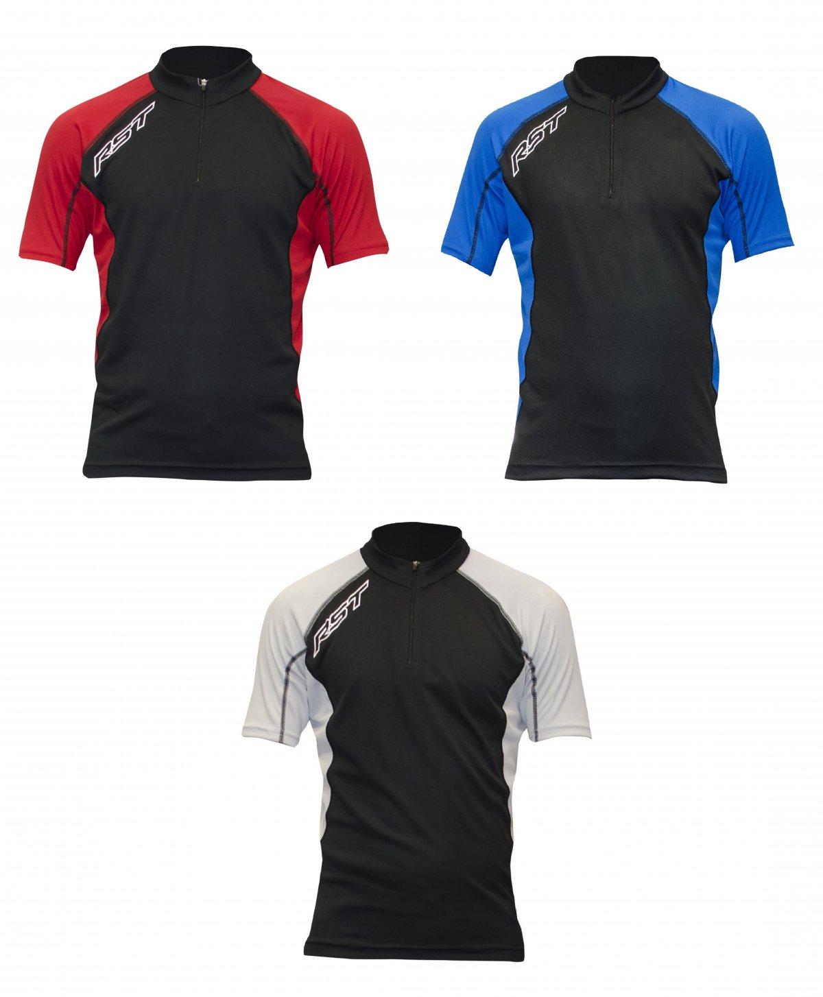 Rst Premium Line Short Sleeve Jersey Quarter Zip
