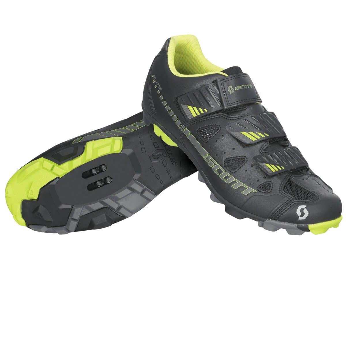 Scott Mtb Shoe Elite Black And Green