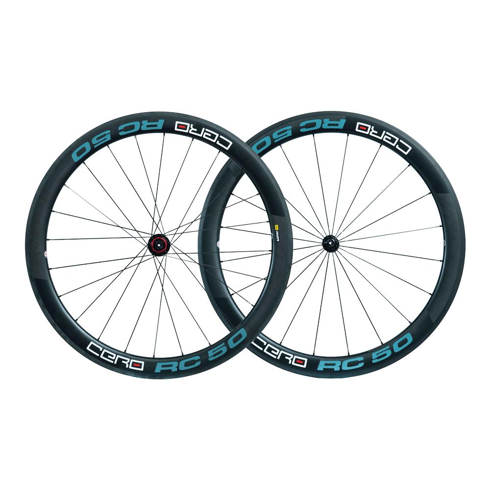 Cero RC50 Carbon Clincher wheelset