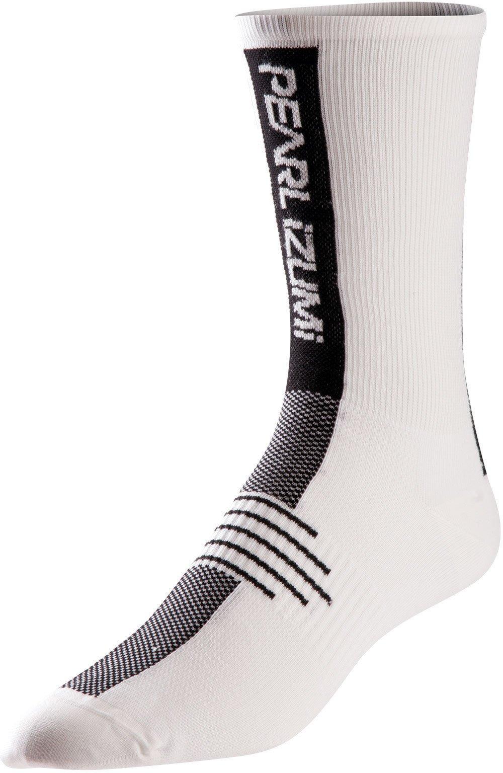 Pearl Izumi Elite Tall Sock Whi S