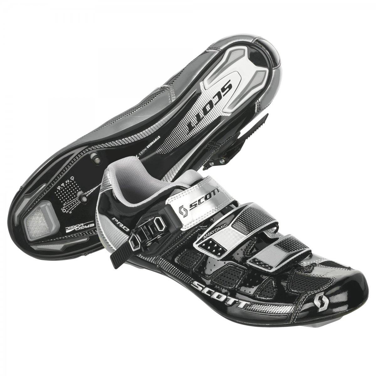 Scott Road Pro Shoe Black/Silver