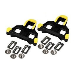 Shimano SPD SL Cleats Yellow 6 degrees