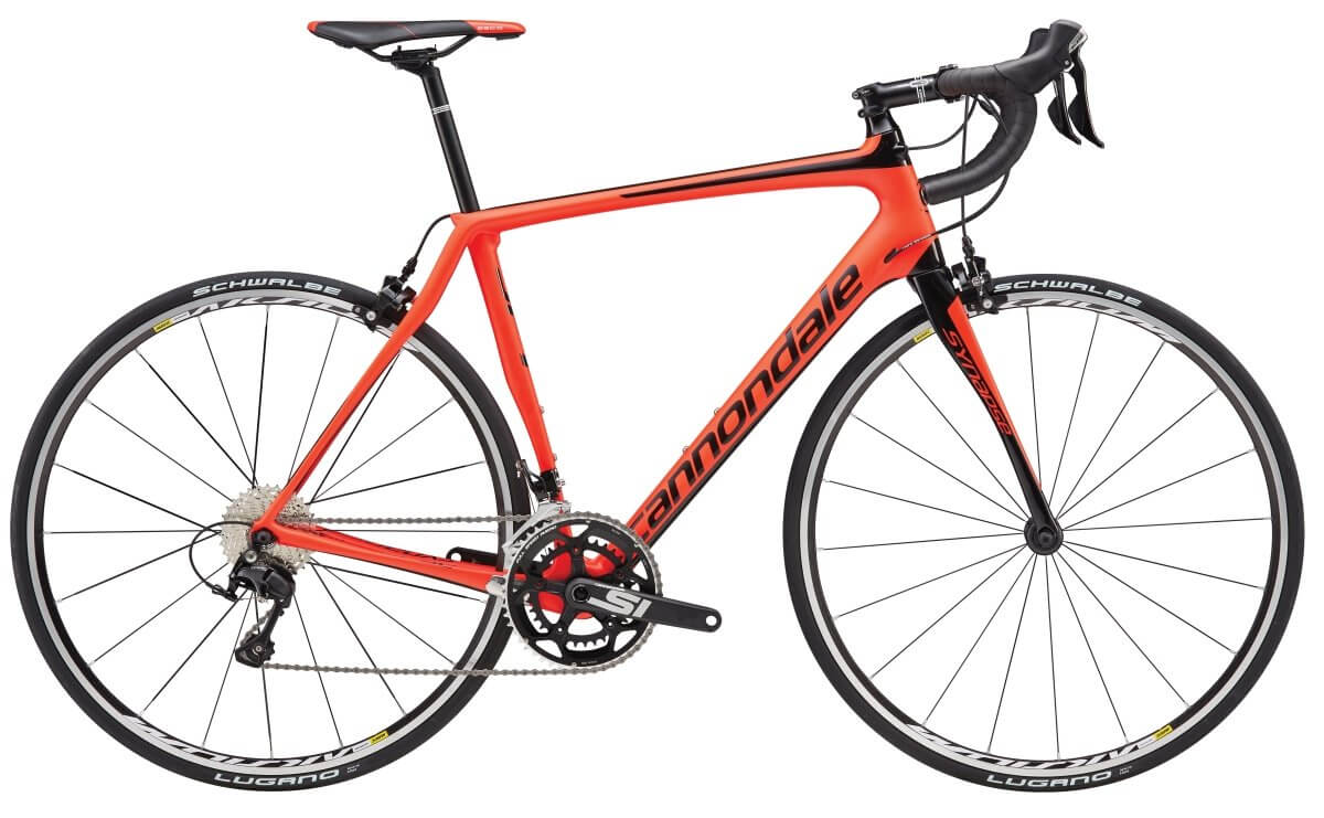 2017 Cannondale Synapse SM Red 105