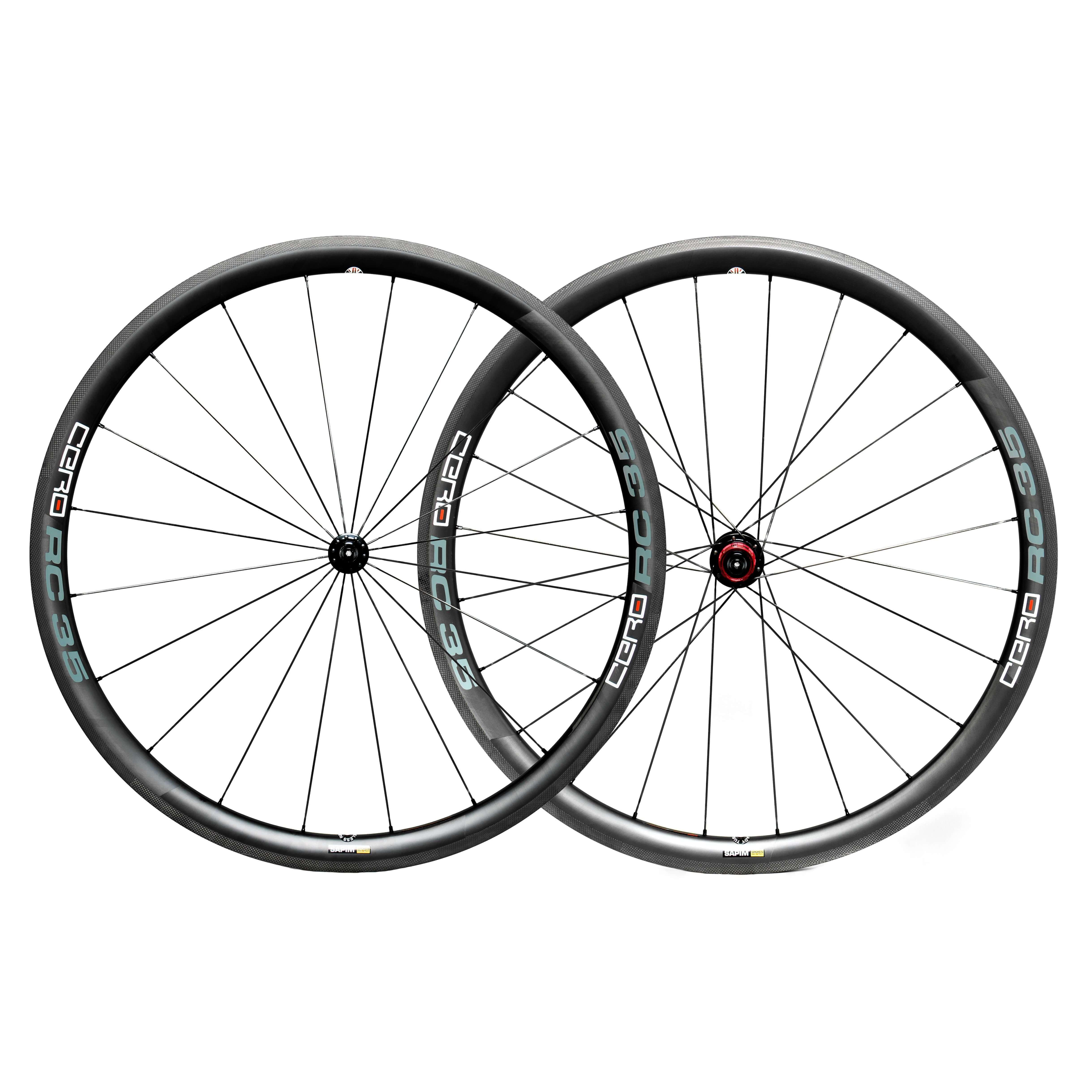 cero rc35 carbon clincher wheelset road bike wheels cycle division