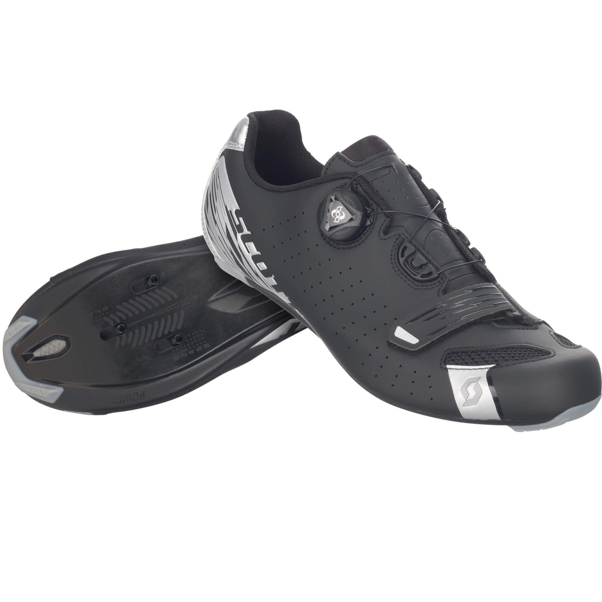 Scott Road Comp Boa Cycling Shoe Black/ Silver 2017