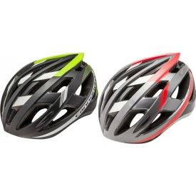 Cannondale Caad Helmet In Black/Red And Black/Green