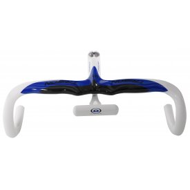 Trigon RB117(S) Carbon Handlebars Blue/White