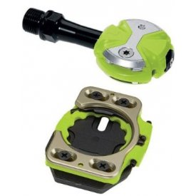 Speedplay ZERO Chromoly Pedals Team Green incl Cleats
