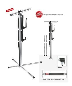Cero Intrepid Pump Stand Silver