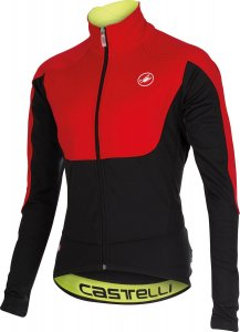 Red Passo Giau Castelli winter jacket