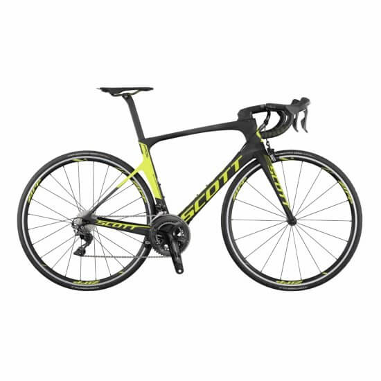 Scott Foil RC Road bike black/ Yellow 2017