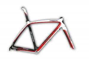 Trigon Rqc29 Str Bb Road Bike Frame Pod Red