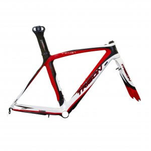 Trigon Tr437 Road Bike Frame Set Red