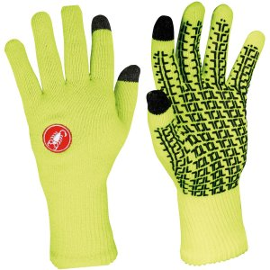 Castelli Prima Spring/Autumn Glove Flo yellow