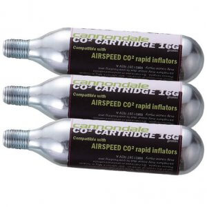 Cannondale Airspeed premium Co2 Refill Cartridges 16g 3 Pack