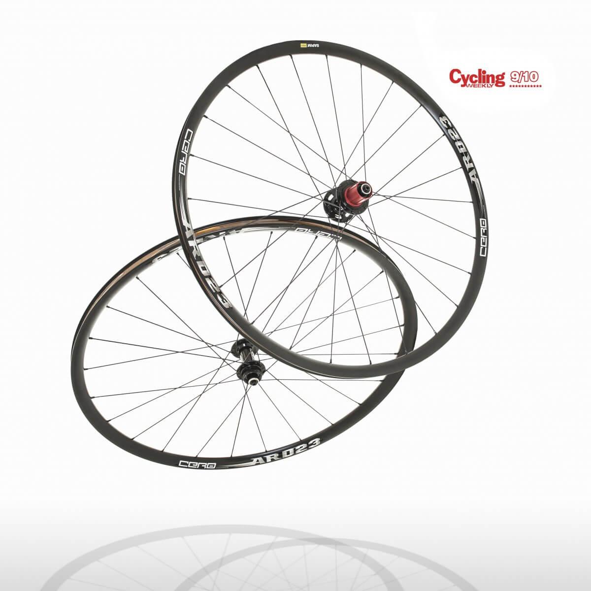 Cero ARD23 Aluminium Disc Clincher Wheelset WAS £399.99