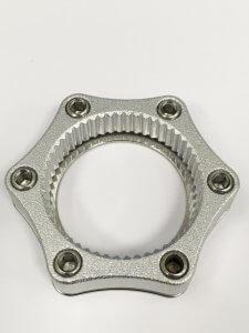 Cero Cerntre Lock To 6-Bolt Adapter W/Lock Ring