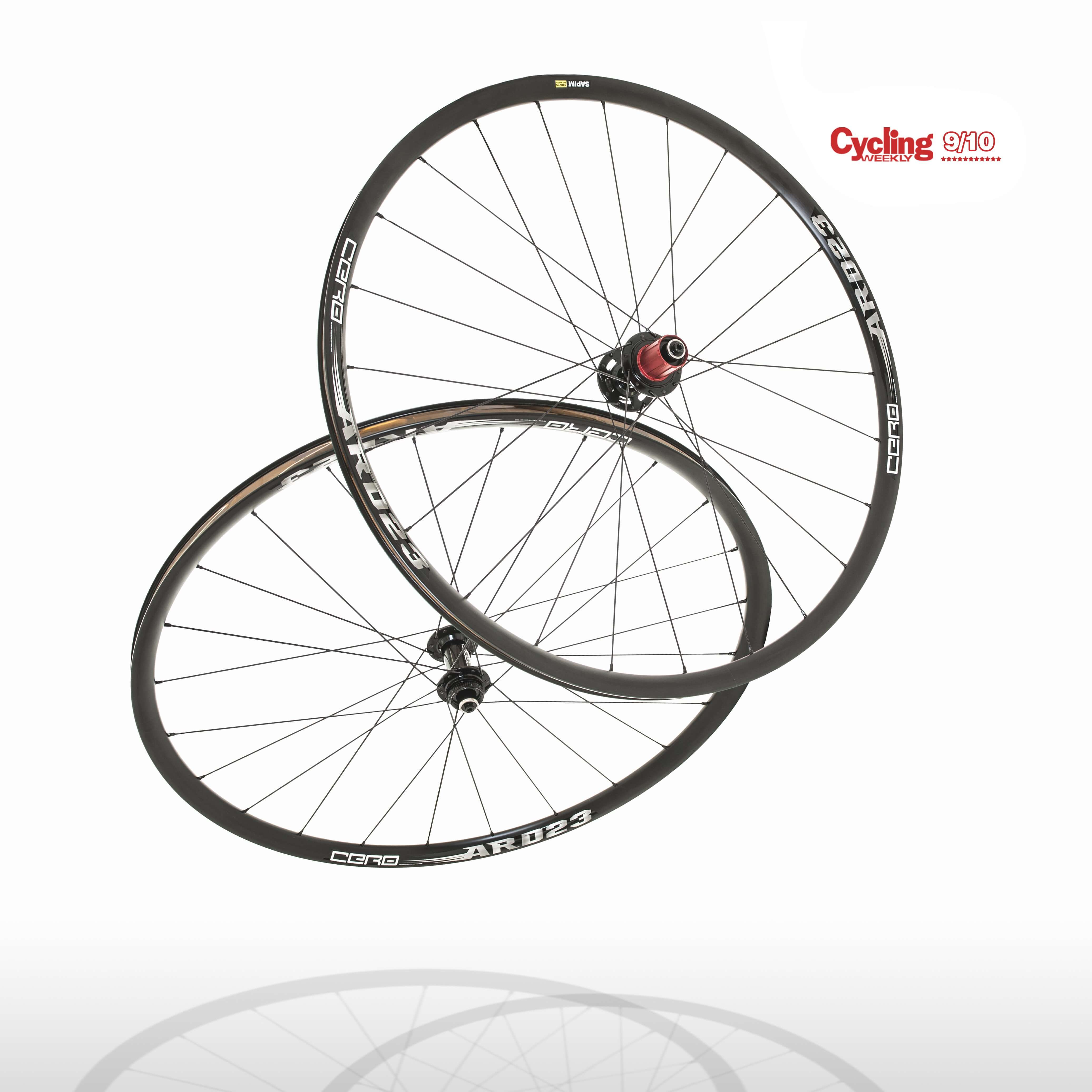 Cero ARD23 Aluminium Disc Clincher Wheelset WAS £399.99