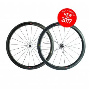Cero RC45 Evo Carbon Clincher wheelset 2017