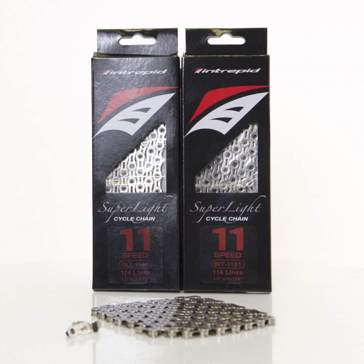 Intrepid 1101 11 Speed Chain Silver