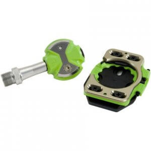 Speedplay ZERO Stainless Pedals Team Green incl Cleats