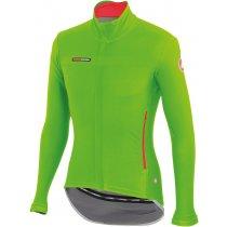 The Castelli gabba 2 long sleeve jersey in sprint green colour scheme.