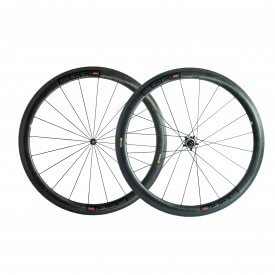 Cero RC45 Evo Carbon Clincher wheelset